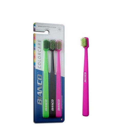 Escova Dente Bianco Colorcare Extra Macia Pk[3x1] Start Quimica -